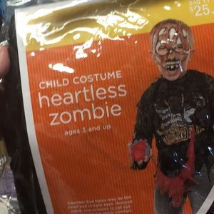 Heartless zombie